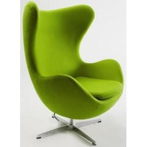 Fauteuil design EGG CHAIR vert
