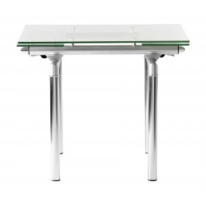 Table manger extensible fusion 90 140 for Comedor redondo extensible
