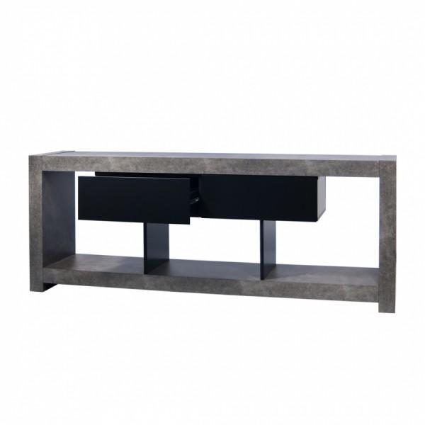 alinea meuble tv effet beton – Artzein.com